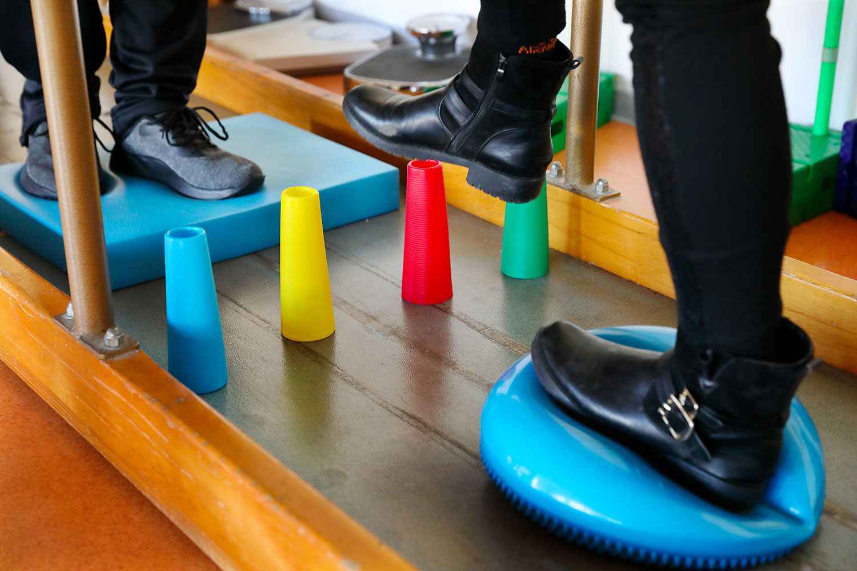Travail de proprioception
